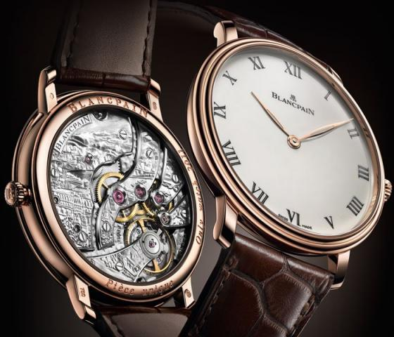 Blancpain Villeret Grande Décoration Only Watch