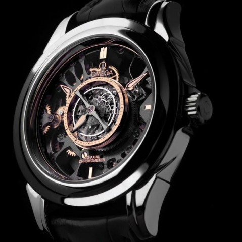 Omega Skeleton Central Tourbillon