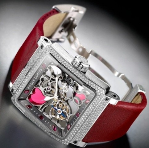 Relógio Roger Dubuis Kings Square Heart Tourbillon