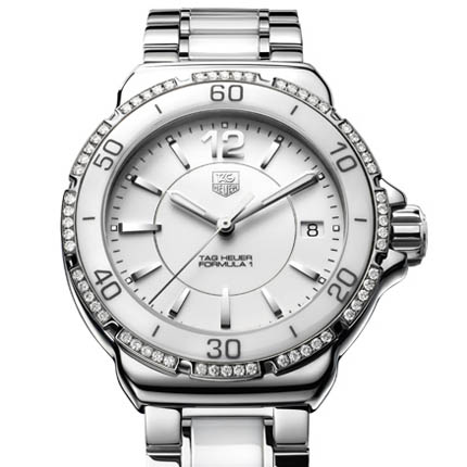Tag Heuer Formula 1 Ladies Steel & Ceramic